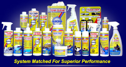 Aurora Marine Boat Care Products