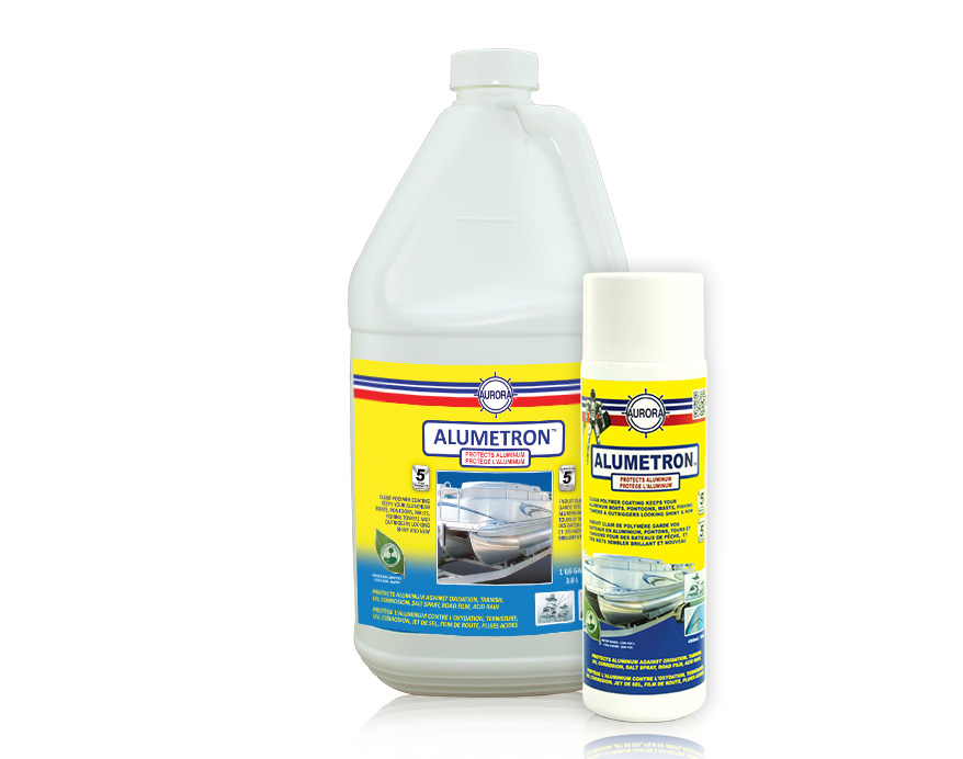 Pontoon Boat Protector, Prevents Corrosion - Alumetron