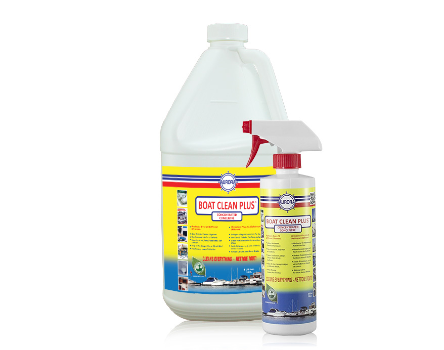 Cleaner and Degreaser for Pontoon Boats - Boat Clean Plus