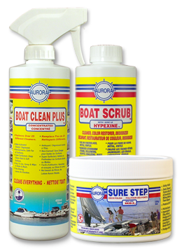 boat-scrub Boat Clean Plus Sure Step