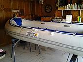 Before Boat Scrub