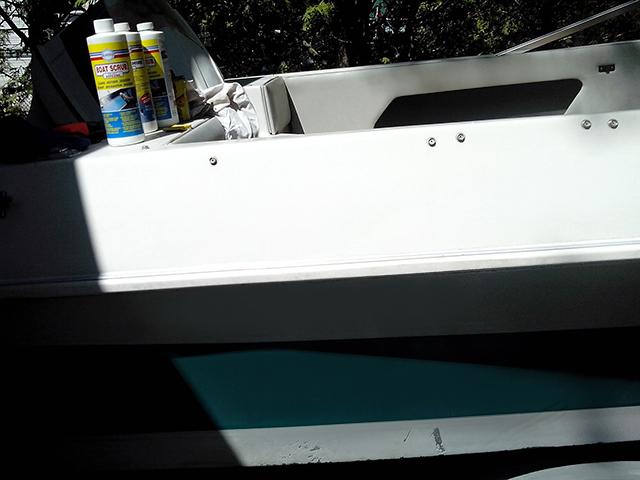 Boat Scrub Testimonial