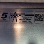 5 Year Alumetron Warranty Sticker