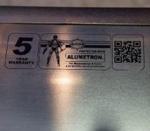 5 Year Alumetron Warranty Sticker
