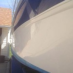 Shiny Searay Boat