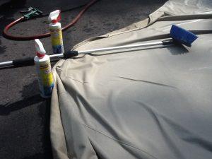 Waterproof and Clean Marine Fabrics