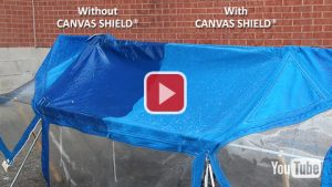 With and Without Canvas Shield